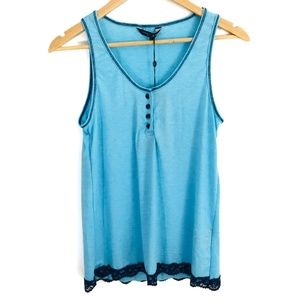 Christian Siriano | Blue Tank Night Shirt